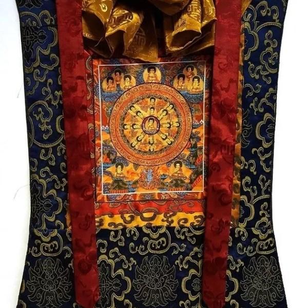 tibeti brokátok, thangkák
