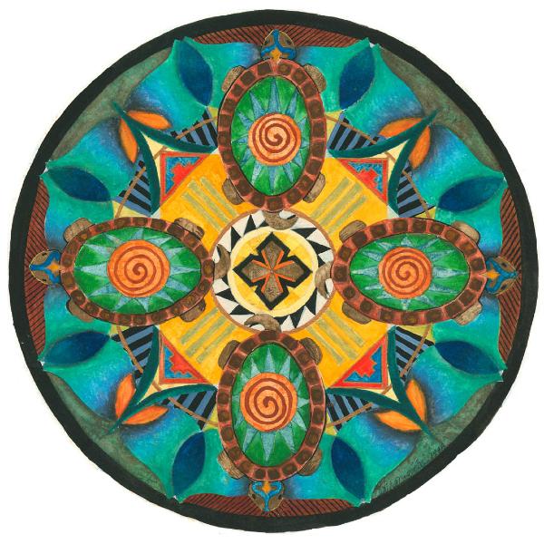 Gallery Mandala Art Plates