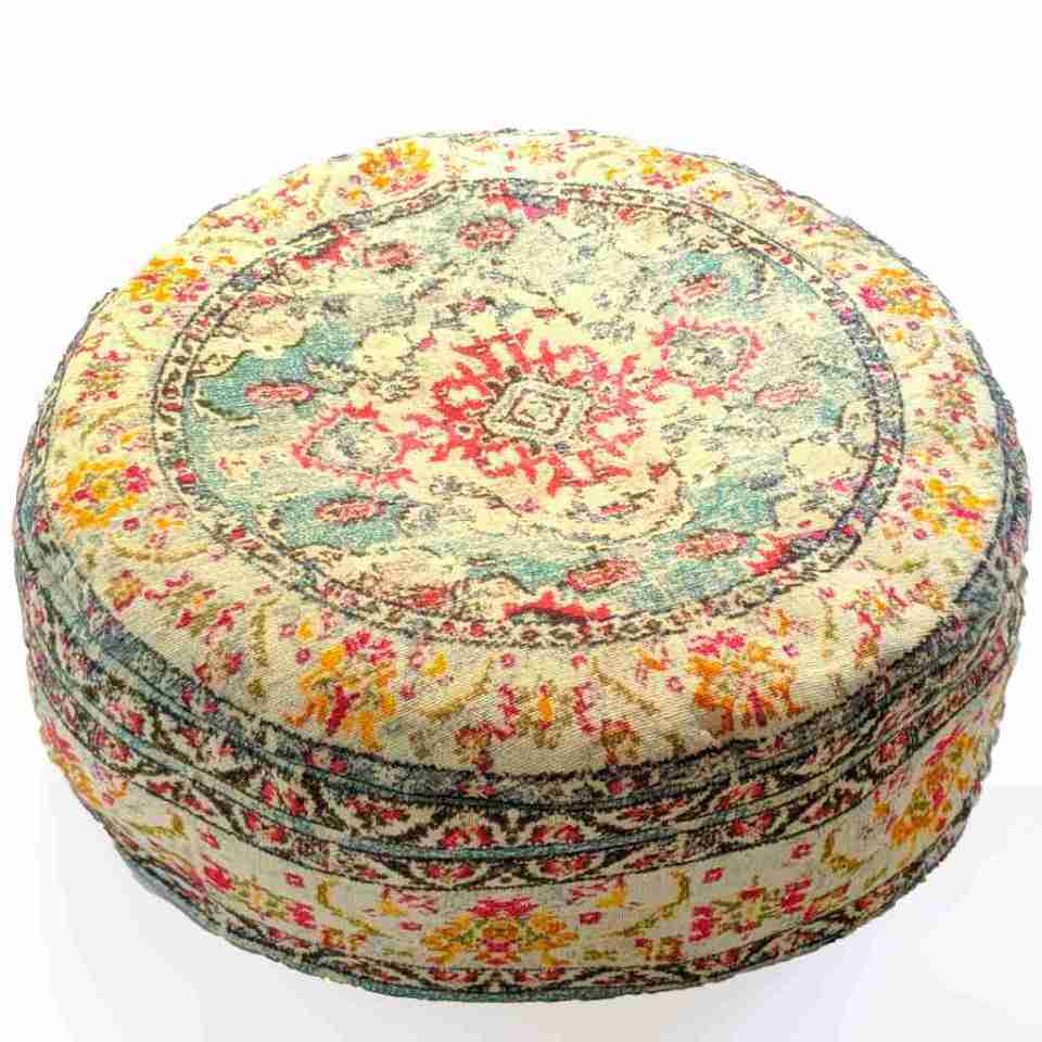 Bohemian Decor Floor Cushion Pouf Carpet Floor Pillow Boho Chic Large Living Room Bedroom chidren room 31