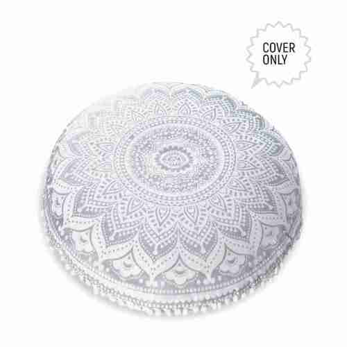 bohemian floor pillow mandala round cushion pouf 16