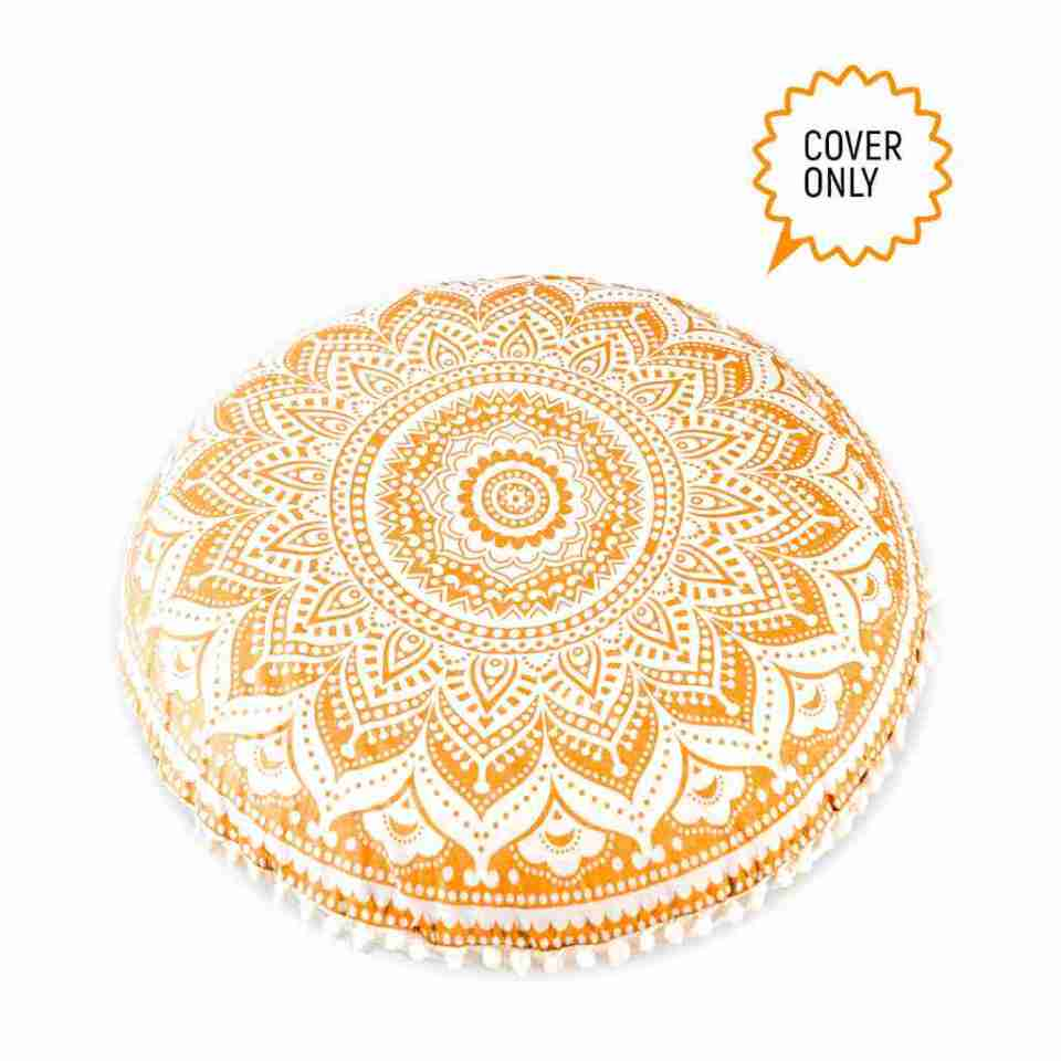 boho chic floor pillow mandala 2