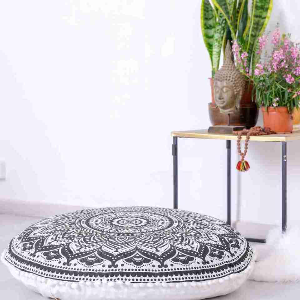 boho chic floor pillow mandala 4