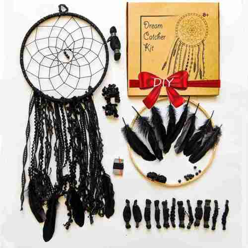Black Dream Catcher Kit