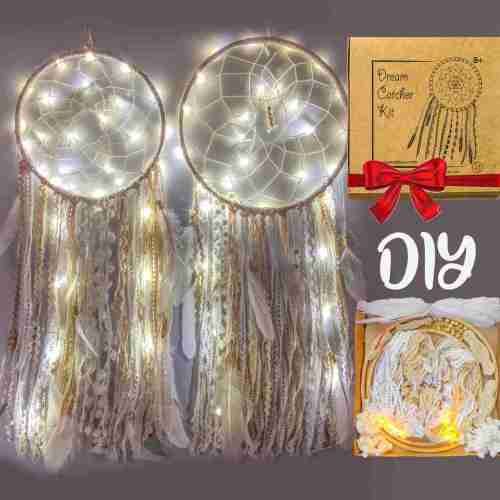Fairy Lights DIY Dream Catcher Kit