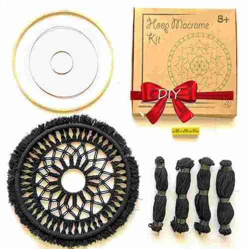 DIY Round Macrame Kit