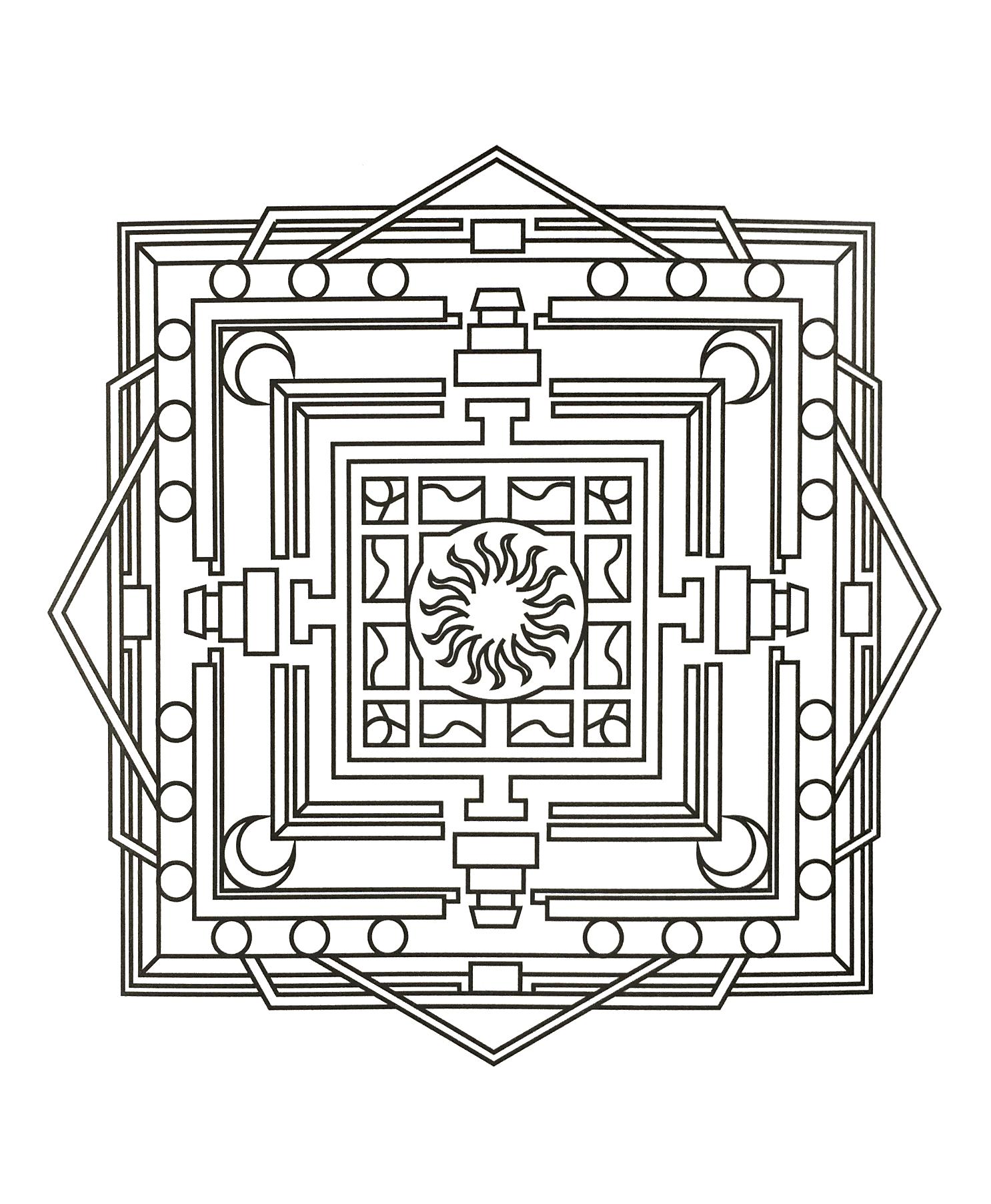 Le Coloriage Anti Stress Mandalas Et Formes