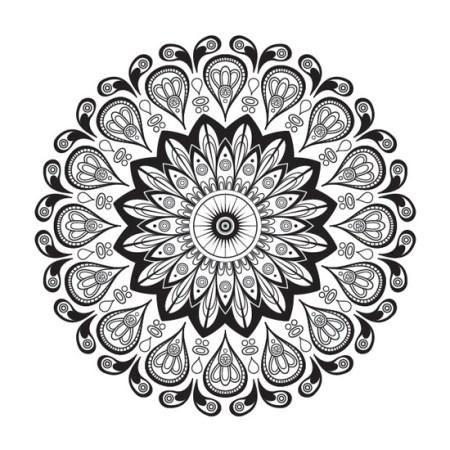 Mandala Abstracto Globos