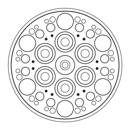 Mandala Geométrico Círculos