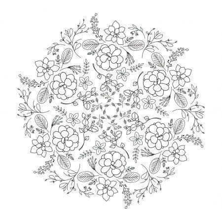 mandala floral descarga gratis