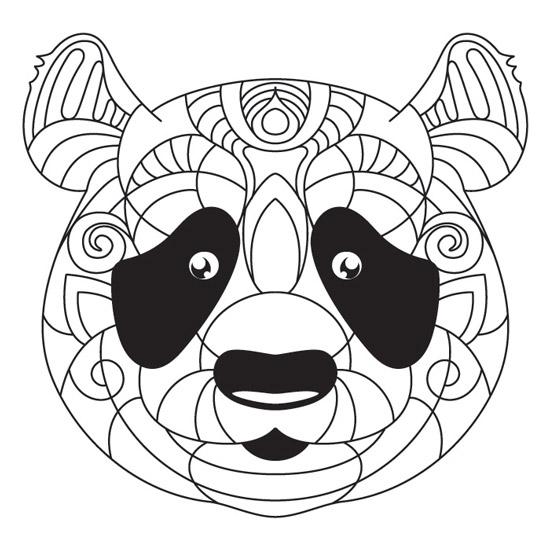 Dibujos De Osos Panda Para Colorear E Imprimir Dibujos Tiernos De