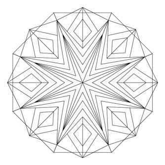 mandala-de estrella