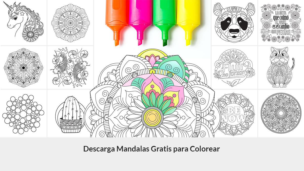 Más De 100 Mandalas Para Imprimir En Pdf Gratis Y Colorear