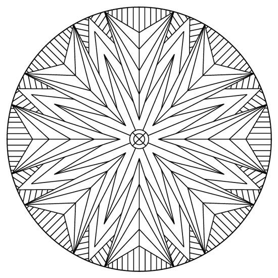 mandala geométrico
