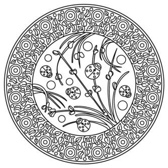 mandala de mariquita