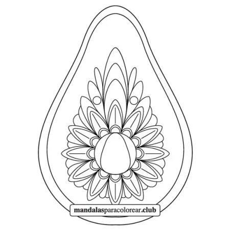 mandala de aguacate