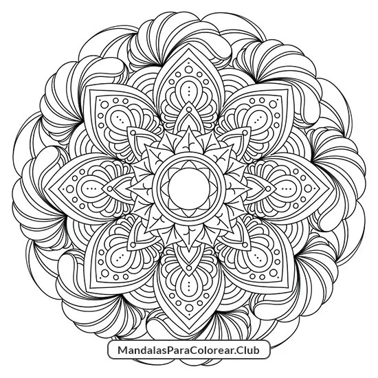 Mandala Plantas Verano