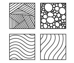 Zentangle Art para Imprimir