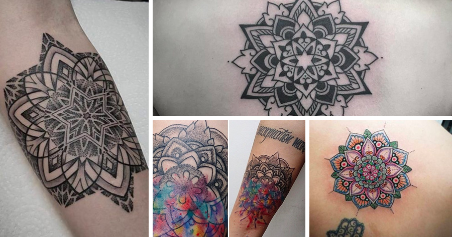 Tatuajes de mandalas, tipos y significados