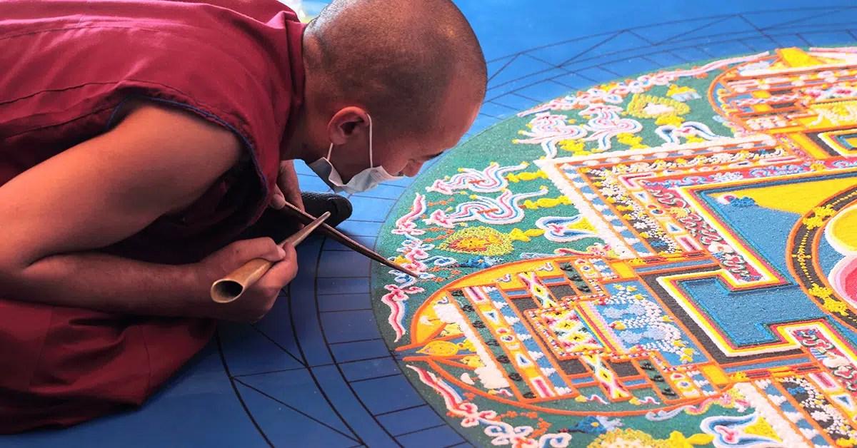 Mandalas Budistas Tibetanos para Meditar