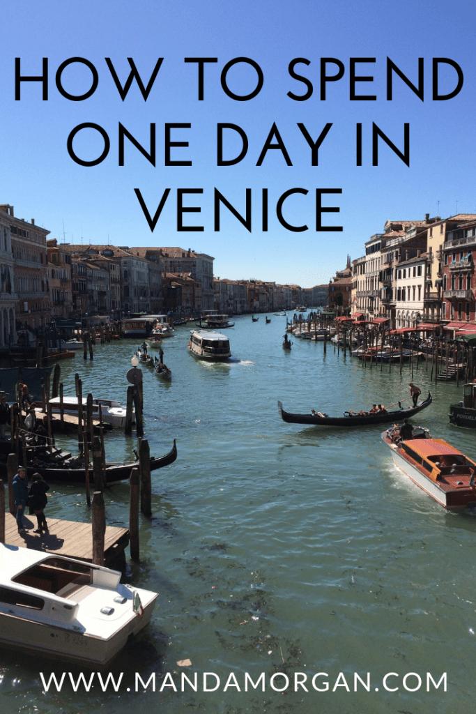 One Day in Venice - www.mandamorgan.com #venice #italy #travel #vacation #bucketlist