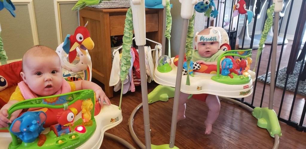 Identical Twins Monthly Update - Six Months - www.mandamorgan.com