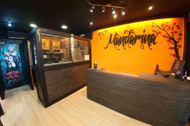 Mandarina Tattoo Studio Recepción 01