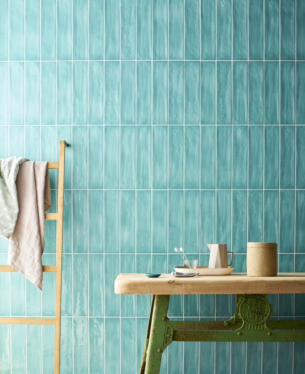 paintbox turquoise gloss ceramic