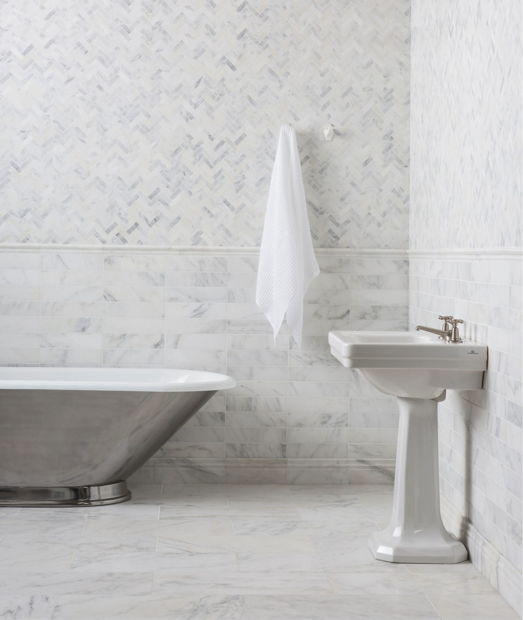 alsace honed marble mouldings