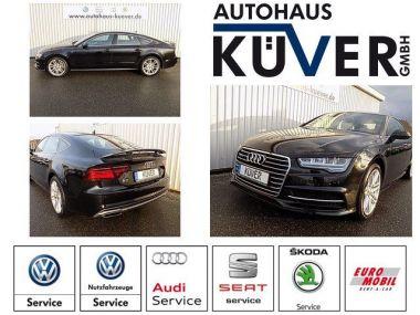 NOUVEAU +++ Audi Voiture d'occasion: Audi A7 Sportback 3,0 TDI Quattro S-Tronic S-Lin für 49950 € +++ Les meilleures offres | Coupé, 18000 km, 2015, Diesel, 272 CV, Noir | 137631944 | auto.de