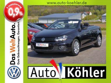 NOUVEAU +++ VW Voiture d'occasion: VW Eos 1.4 TSi RNS 315 für 22610 € +++ Les meilleures offres | Cabriolet/Décapotable, 25000 km, 2015, Essence, 122 CV, Noir | 133729291 | auto.de