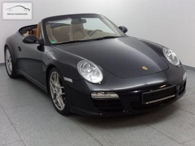 NOUVEAU +++ Porsche Voiture d'occasion: Porsche Carrera 911/ 997  S Cabrio PDK+Sport-Chrono+PCM für 55700 € +++ Les meilleures offres | Cabriolet/Décapotable, 104950 km, 2009, Essence, 385 CV, Noir | 135672359 | auto.de
