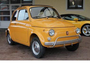 NOUVEAU +++ Fiat Véhicule ancien: Fiat 500L H Kennzeichen TÜV NEU Faltdach für 8900 € +++ Les meilleures offres   Citadine, 94587 km, 1970, Essence, 18 CV, Jaune   137387473   auto.de