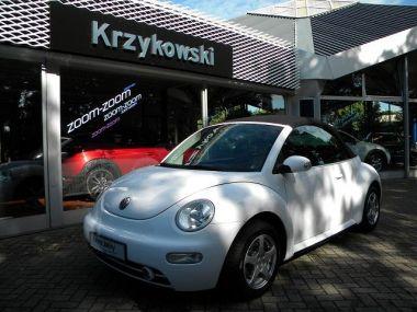NOUVEAU +++ VW Voiture d'occasion: VW New Beetle Cabrio let 1.4 für 5949 € +++ Les meilleures offres | Berline, 101447 km, 2003, Essence, 75 CV, Blanc | 135642952 | auto.de