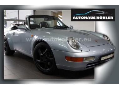 NOUVEAU +++ Porsche Voiture d'occasion: Porsche 911 Urmodell Carrera Cabrio 1.Hand dt.Auto S für 52400 € +++ Les meilleures offres   Cabriolet/Décapotable, 188000 km, 1994, Essence, 272 CV, Argent   135225550   auto.de