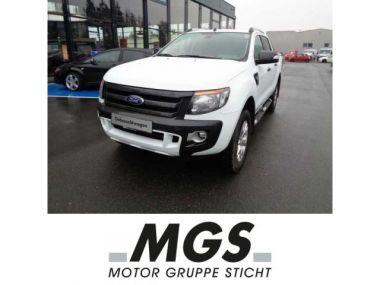 NOUVEAU +++ Ford Voiture d'occasion: Ford Ranger Autm. Wildtrak für 28690 € +++ Les meilleures offres | 4x4, 36500 km, 2014, Diesel, 200 CV, Blanc | 137621243 | auto.de