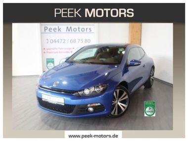 NOUVEAU +++ VW Voiture d'occasion: VW Scirocco 1.4 TSI BMT Navi Xenon 18Zoll Leder ACC  für 16990 € +++ Les meilleures offres   Coupé, 23800 km, 2013, Essence, 122 CV, Bleu   137373481   auto.de