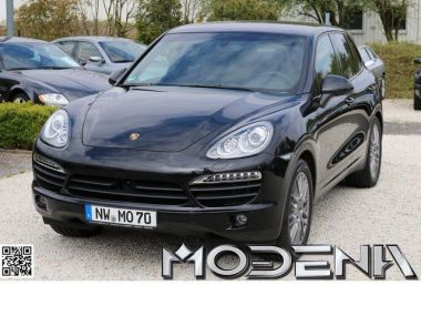 NOUVEAU +++ Porsche Voiture d'occasion: Porsche Cayenne S Diesel AHK ACC 20 ZOLL LUFT BOSE PDLS für 59800 € +++ Les meilleures offres | 4x4, 114900 km, 2013, Diesel, 382 CV, Noir | 134368707 | auto.de