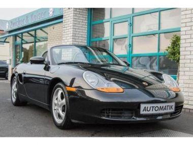 NOUVEAU +++ Porsche Voiture d'occasion: Porsche Boxster Basis*Nur 45.359 Km* für 15950 € +++ Les meilleures offres | Cabriolet/Décapotable, 45359 km, 1997, Essence, 204 CV, Noir | 137430059 | auto.de
