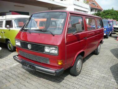 NOUVEAU +++ VW Voiture d'occasion: VW T3 Caravelle 1.6 TD * 1. Hand * 126 tkm * für 5950 € +++ Les meilleures offres | Minibus/Monospace, 126000 km, 1990, Diesel, 69 CV, Rouge | 135975807 | auto.de