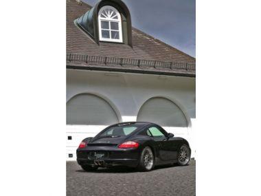 NOUVEAU +++ Porsche Voiture d'occasion: Porsche Cayman Inden Design für 67500 € +++ Les meilleures offres | Coupé, 12920 km, 2007, Essence, 320 CV, Noir | 126000038 | auto.de