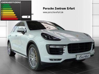 NOUVEAU +++ Porsche Voiture d'occasion: Porsche Cayenne Turbo/Ceramic/PCCB/Standheizung/TV für 114890 € +++ Les meilleures offres | 4x4, 15000 km, 2014, Essence, 519 CV, Autre | 133294502 | auto.de