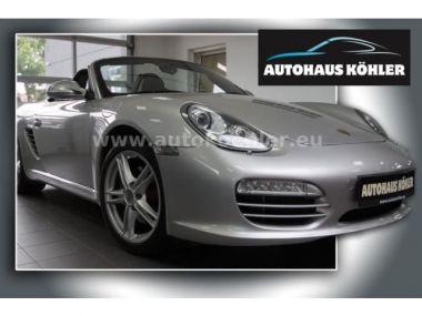 NOUVEAU +++ Porsche Voiture d'occasion: Porsche Boxster Xenon BOSE 18 für 26999 € +++ Les meilleures offres | Cabriolet/Décapotable, 63000 km, 2009, Essence, 256 CV, Argent | 135713829 | auto.de