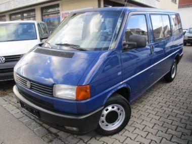 NOUVEAU +++ VW Voiture d'occasion: VW T4 Bus Kombi 2,5 Benzin, für 5990 € +++ Les meilleures offres | Minibus/Monospace, 214100 km, 1994, Essence, 110 CV, Bleu | 132856667 | auto.de