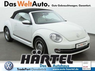 NOUVEAU +++ VW Voiture d'occasion: VW New Beetle Cabrio Beetle Cabriolet CUP 2.0 TDI BMT (Leder  für 24070 € +++ Les meilleures offres | Cabriolet/Décapotable, 11000 km, 2015, Diesel, 150 CV, Autre | 134022522 | auto.de