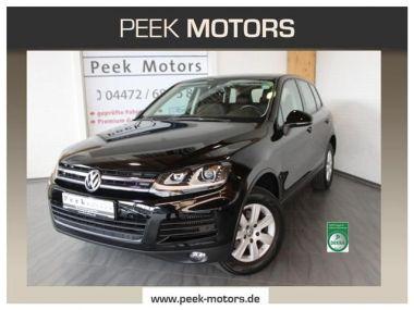 NOUVEAU +++ VW Voiture d'occasion: VW Touareg 3.0 TDI V6 Navi Leder Xenon Panoramadach für 38590 € +++ Les meilleures offres | 4x4, 19500 km, 2014, Diesel, 204 CV, Noir | 136436878 | auto.de