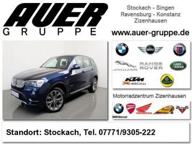 NOUVEAU +++ BMW Voiture d'occasion: BMW X3 xDrive 30dA SUV xLine (HeadUp NaviProf) für 54900 € +++ Les meilleures offres | 4x4, 19800 km, 2015, Diesel, 258 CV, Bleu | 132404448 | auto.de