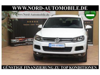 NOUVEAU +++ VW Voiture d'occasion: VW Touareg 3.0TDI TIP BMT*R-LINE*LUFT*Leder*Navi*Xe für 31800 € +++ Les meilleures offres | 4x4, 82863 km, 2012, Diesel, 245 CV, Blanc | 129732149 | auto.de