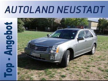 NOUVEAU +++ Cadillac Voiture d'occasion: Cadillac SRX 4.6 V8 AWD Sport Luxury +Leder +PDC +Nav für 10690 € +++ Les meilleures offres | 4x4, 119000 km, 2009, Essence, 325 CV, Gris | 135972220 | auto.de