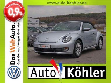 NOUVEAU +++ VW Voiture d'occasion: VW New Beetle Cabrio Beetle Cabriolet TSi inkl. Winterräder für 19992 € +++ Les meilleures offres   Cabriolet/Décapotable, 24700 km, 2015, Essence, 105 CV, Argent   133390191   auto.de