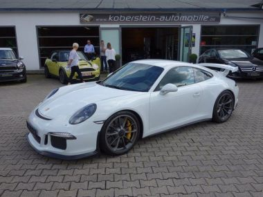 NOUVEAU +++ Porsche Voiture d'occasion: Porsche 911 GT3*Clubsport,Keramik,Bi Xenon* für 136800 € +++ Les meilleures offres | Coupé, 16000 km, 2013, Essence, 476 CV, Blanc | 136046742 | auto.de